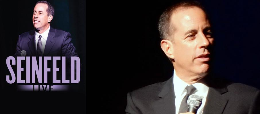 Jerry Seinfeld at VBC Mark C. Smith Concert Hall