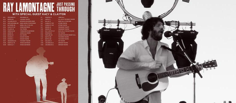 Ray LaMontagne at VBC Mark C. Smith Concert Hall