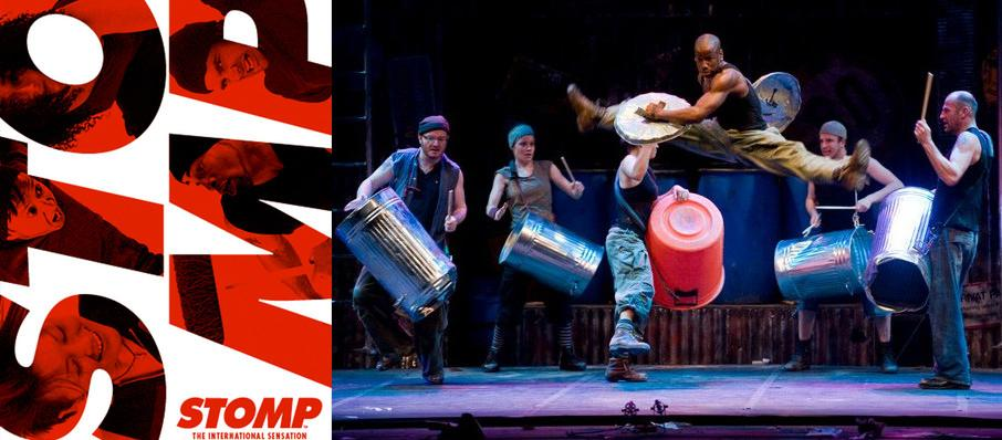 Stomp at VBC Mark C. Smith Concert Hall