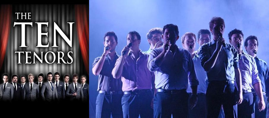 The Ten Tenors at VBC Mark C. Smith Concert Hall