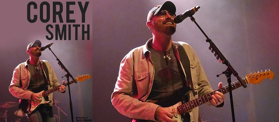 Corey Smith at VBC Mars Music Hall