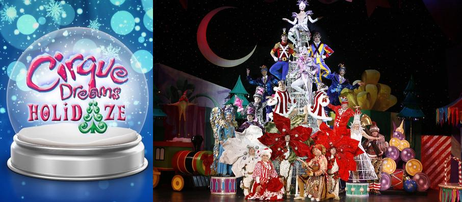 Cirque Dreams Holidaze at VBC Mark C. Smith Concert Hall