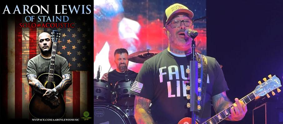 Aaron Lewis at VBC Mark C. Smith Concert Hall