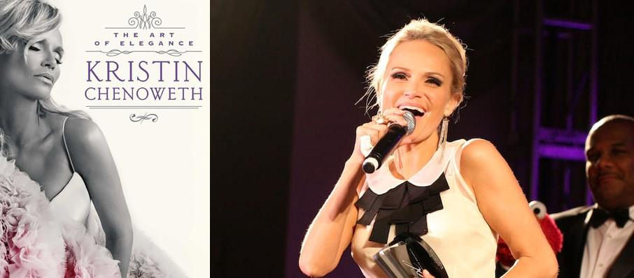 Kristin Chenoweth at VBC Mark C. Smith Concert Hall