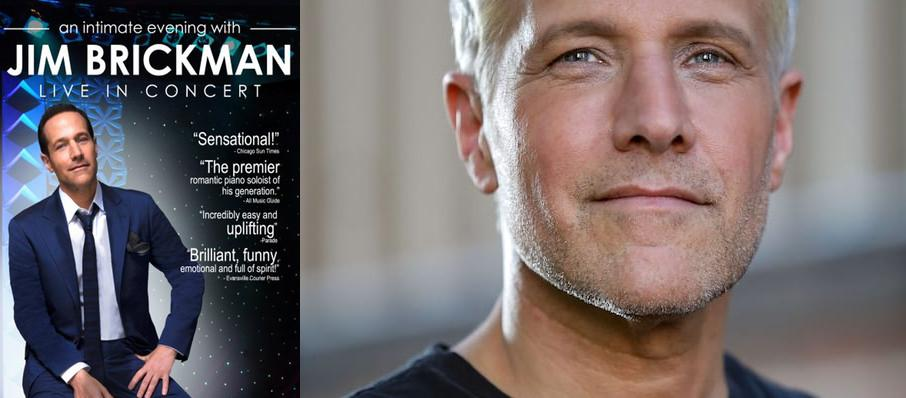 Jim Brickman at VBC Mark C. Smith Concert Hall