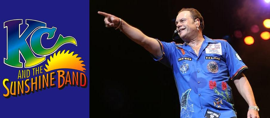 KC and the Sunshine Band at VBC Mark C. Smith Concert Hall