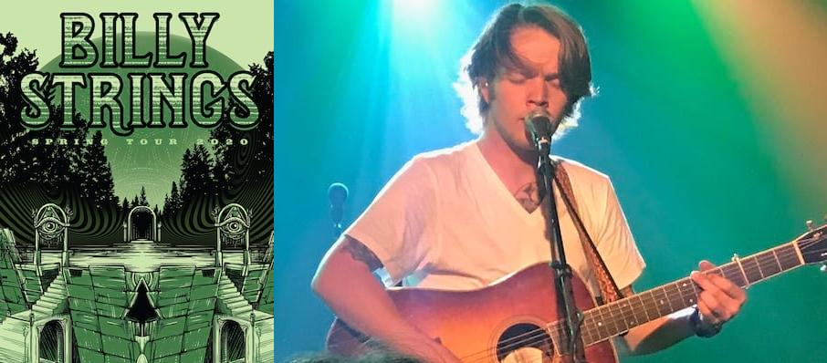 Billy Strings at VBC Mars Music Hall