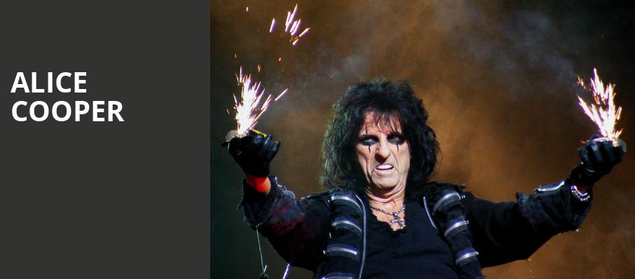 Alice Cooper, VBC Mark C Smith Concert Hall, Huntsville