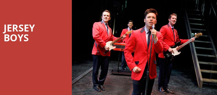 Jersey Boys, VBC Mark C Smith Concert Hall, Huntsville