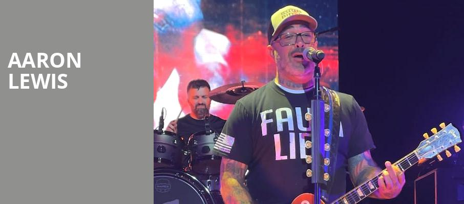 Aaron Lewis, VBC Mark C Smith Concert Hall, Huntsville