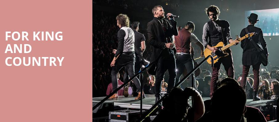 For King And Country, VBC Arena, Huntsville