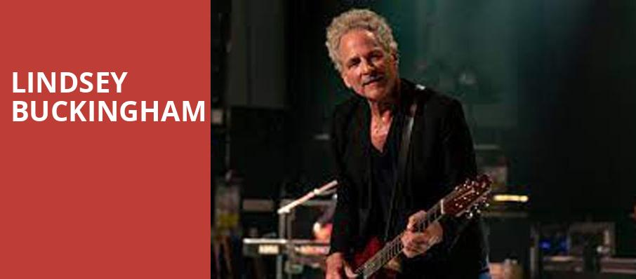 Lindsey Buckingham, VBC Mars Music Hall, Huntsville