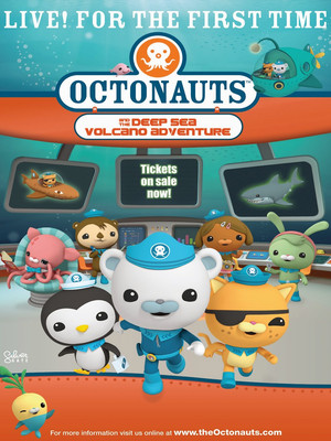 Octonauts Live, VBC Mark C Smith Concert Hall, Huntsville